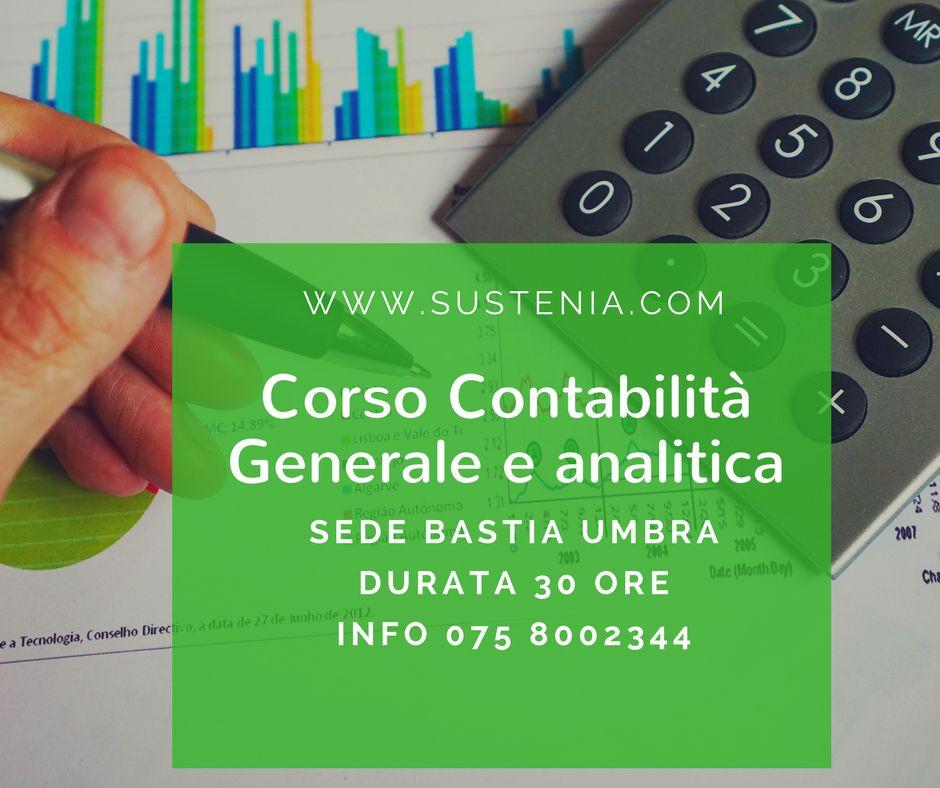 corso contabilità generale e analitica