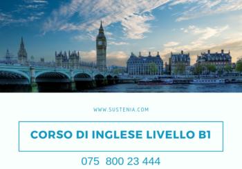 CORSO DI INGLESE LIVELLO B1