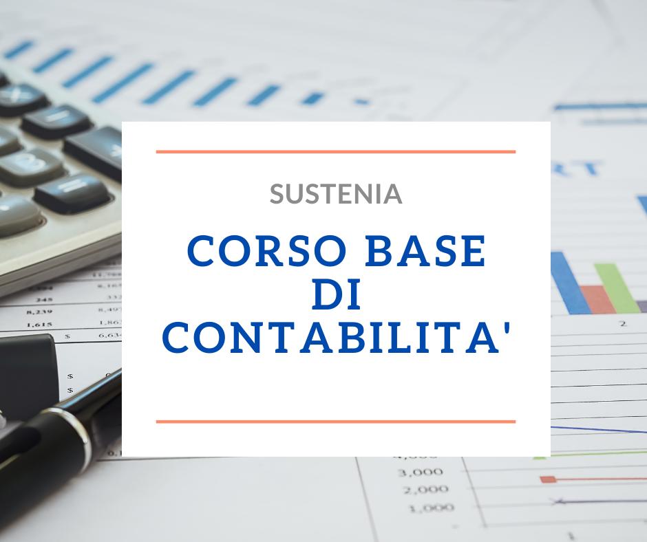 CORSO BASE DI CONTABILITA'